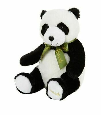 Harrods Traditional Panda Teddy Bear... Gift For New Baby ~ Harrods Bag & Card