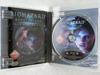 BioHazard Resident Evil Revelations PS3 CAPCOM Sony Playstation 3 From Japan