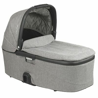 Nuna DEMI Grow Carrycot, Suitable from Birth – Frost