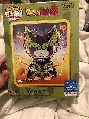 Funko POP and Tee Dragon Ball Z Perfect Cell T-Shirt (Size L) Limited Edition