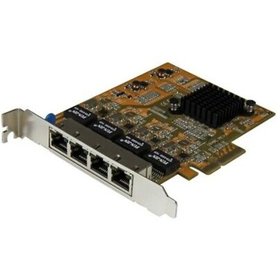 StarTech.com 4-Port PCI Express Gigabit Network Adapter Card - Quad-Port PCIe Gi