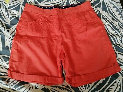 BNWOT Girls Coral Shorts Size Age 13 Years