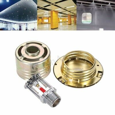 Strong Metal Fire Sprinkler Head W/ Cover Fire Extinguishing System  0