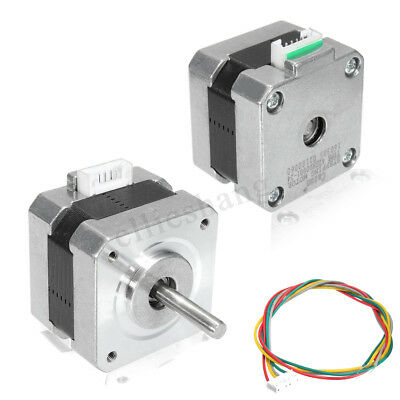 26Ncm 42 Stepper Motor 4-wires 34mm 12V/0.4A for 3D Printer Monitor Stage