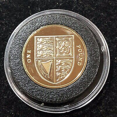 2016 Royal Mint Shield of Royal Arms One Pound £1 Coin Brilliant Uncirculated BU