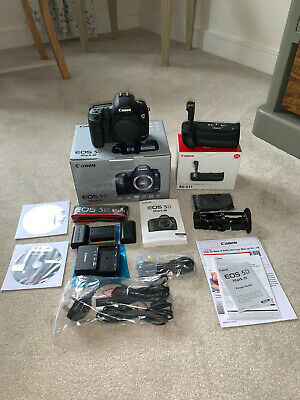 Canon EOS 5D Mark III Mkiii Mark 3 Camera Body Only Very Low Shutter Count 804
