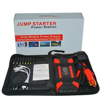 Portable 89800mAh Car Jump Starter Power Bank Battery Charger Cell w/USB Ports