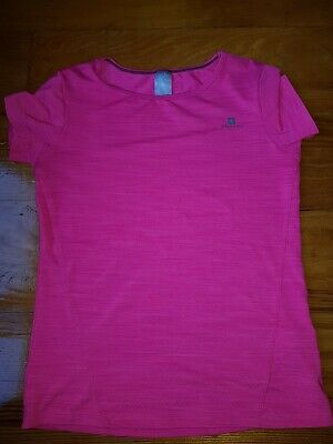 Girls Pink Decathlon Sports Tshirt 10 Years