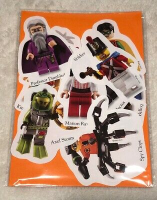 Lego FRIENDS Stickers Childrens Party Bag Fillers PACK OF 15