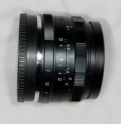 Neewer 35mm f 1.7 lens in Sony E fit