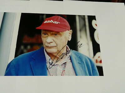 F1 Niki Lauda  Hand Signed In Person   Picture 1  ...Sale Price For 1 Week Only