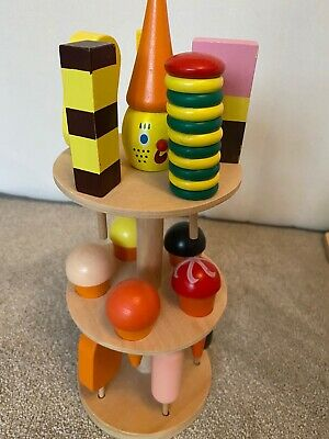 Wooden Toy Ice Cream Stand By Small Foot In Excellent Condition