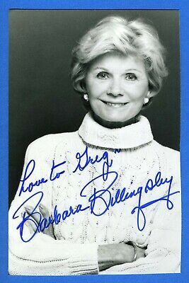 Barbara Billingsley DECEASED Actress Leave It To Beaver Signed Photo X1000