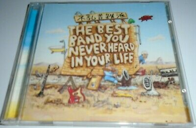 FRANK ZAPPA best band you never heard in your life 2xCD perfect NEAR MINT
