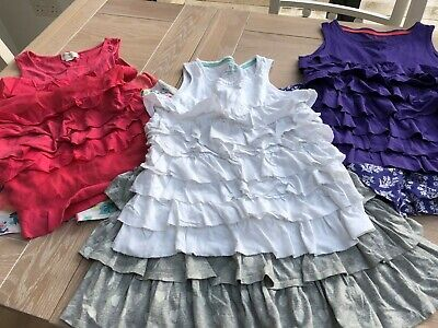 Mini Boden Girls Shorts and Tops Bundle Age 11-12 yrs 3 outfits, 6 pieces