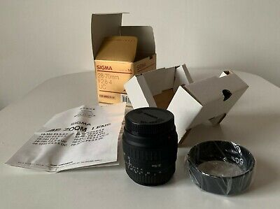 New - mint condition Sigma 28-70mm F2.8-4 UC lens for Minolta AF. Never used.