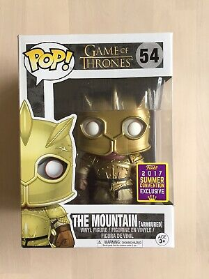 Funko POP! The Mountain (Game of Thrones, #54) Summer Convention