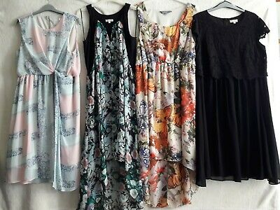 Maternity Bundle Size 14 4 X Summer/Special Occasion Dresses Immaculate Free P&P