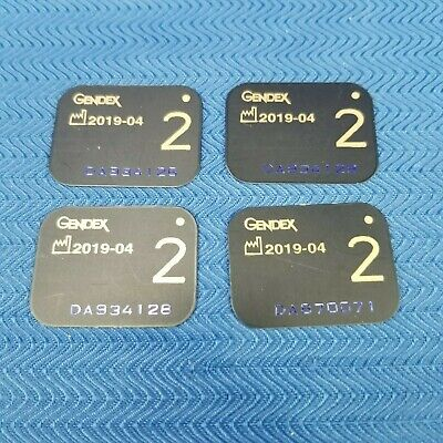 Gendex #2 X-Ray Phosphor Plates Pack of 4