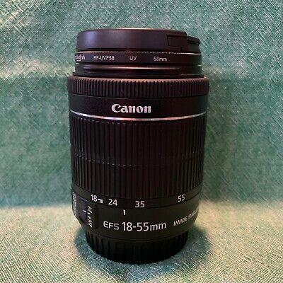 Canon EF-S 8114B002 18-55mm f/3.5-5.6 STM IS Lens