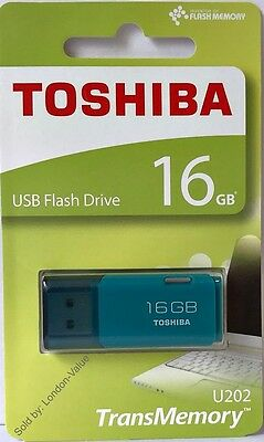 Toshiba 16GB USB Flash Drive Memory Stick Thumb Pen Drive