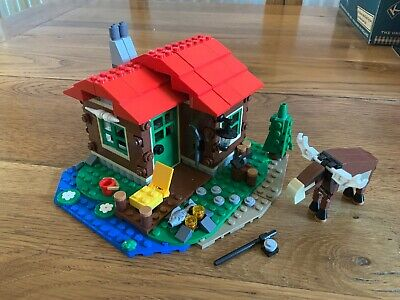 LEGO Creator 3-in-1 31048 Lakeside Lodge (2016) No Instructions