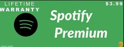 Spotify Premium LIFETIME Account | New or Exiting Spotify Account upgrade