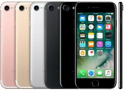 Apple iPhone 7 32GB, 128GB, 256GB GSM Unlocked AT&T T-Mobile 4G LTE Very Good