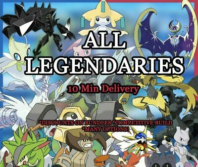 Pokemon Sword and Shield Shiny Legendaries 6 IV | Pokemon Home | Fast Delivery