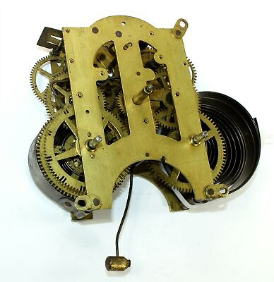 Ansonia Clock Movement - Eight Day Time And Strike - Gg116