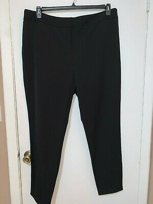 Women's Pants City Chic Black Simply Tailored Career Style Plus Size 20 NWT $109