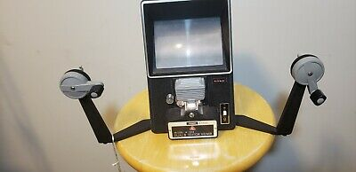 Vintage Goko Model A-203 Dual-8 Editor Viewer 8mm Editor Viewer