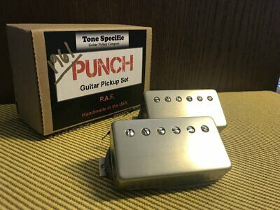 1961 P.A.F. Humbuckers - Tone Specific Punch Set - Fits PRS, Gibson, Les Paul