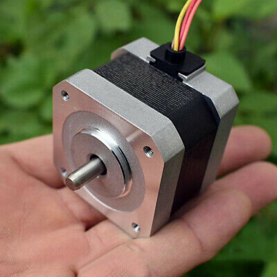 42mm 0.9 Degree NEMA17 2-Phase 4-Wire Stepper Motor 5mm Shaft 3D Printer CNC