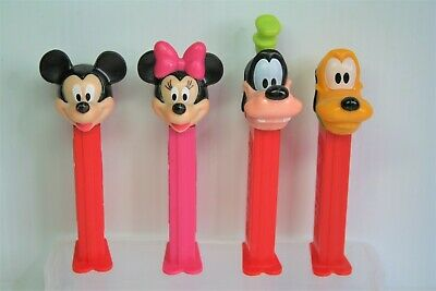 Mickey and friends Pez Dispensers