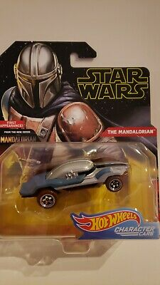 Hot Wheels Star Wars The Mandalorian 2019 Character Cars Die-cast 1:64 NIB