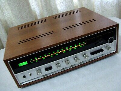 Excellent Vintage Sansui 2000X Stereo Tuner Amplifier Amp Receiver Extra Manuals