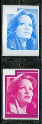 1977 Topps Charlies Angels Color Separation Proof Cards. #221