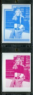 1977 Topps Charlies Angels Color Separation Proof Cards. #203