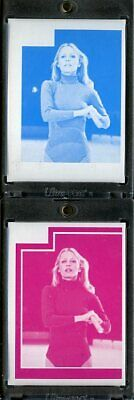1977 Topps Charlies Angels Color Separation Proof Cards. #202