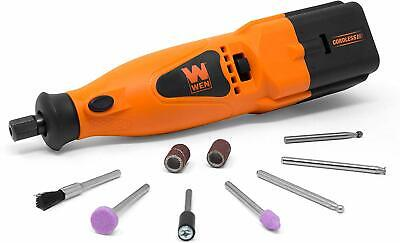 Cordless Rotary Tool Kit 10 Piece Set Speed Rotary Dremel Cutting Accessories