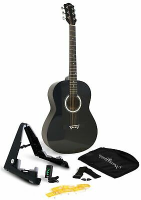 Martin Smith 6 Acoustic SuperKit Stand Tuner Bag Strap Picks and Guitar Strin...
