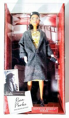 Rosa Parks Barbie Signature Inspiring Women Civil Rights Doll New Sealed NIB