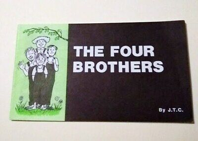 Jack Chick Tract 1987 The Four Brothers Christian Comic Salvation Mint! Rare Oop