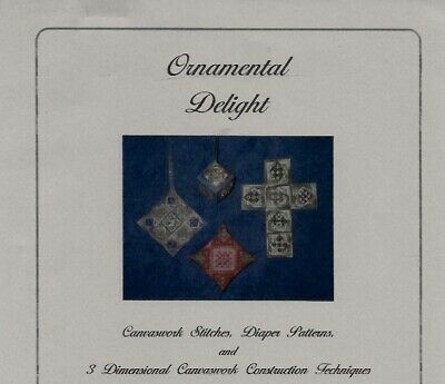 Ornamental Delight Counted Needlepoint Class Instructions - Judith Gulick
