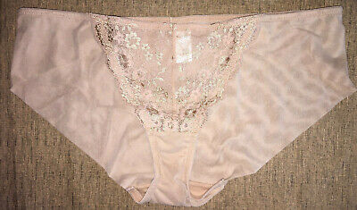 L - WACOAL Lo Rise No Pantie Lines Hip Hugging Vintage Panties Women's Brief