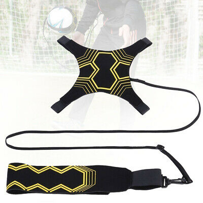 Adjustable Football Kick Throw Trainer Soccer Ball Train Control Practice Belt~
