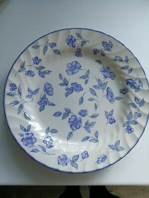 BHS Bristol Blue Pattern 2 dinner plates 26 cm  first pair