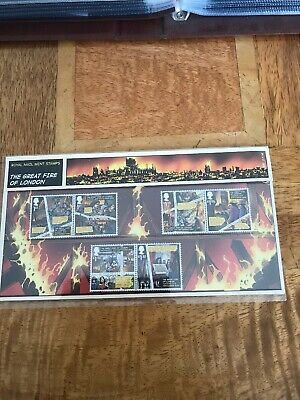 GB 2016 The Great Fire Of London Presentation Pack 531 In Sleeve