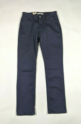 Levis Mid Rise Skinny Womens Size 6/28 Charcoal Gray Casual Pants